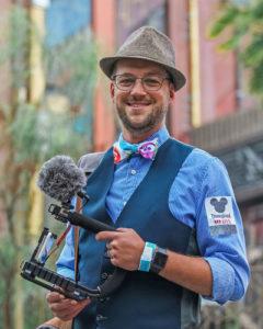 Mr. DAPs  - DISNEY Reporter